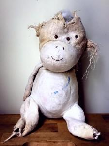 Well loved monkey.